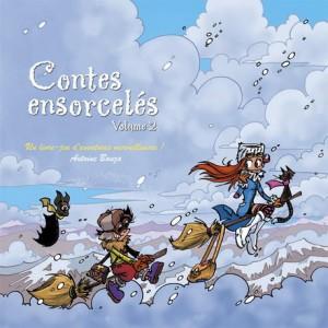 couverture du tome 2 de Contes ensorcelés, le jeu de rôles d'Antoine Bauza