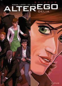 couverture BD Alter Ego Delia