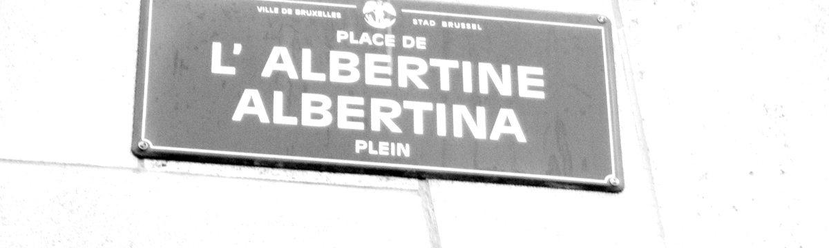 place de l'Albertine à Brussel