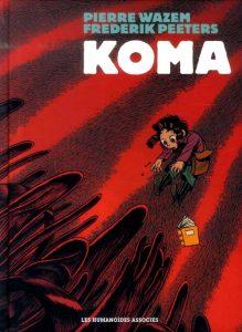 couverture BD Koma intégrale couleur 1