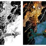 planche mise en couleurs pour Maidan Love T1 de Ducoudray et Alliel, aux éditions Grand Angle