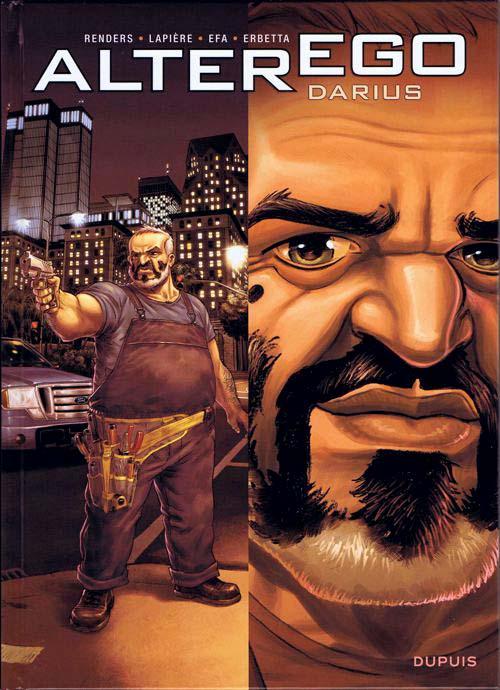 couverture BD Alter Ego Darius