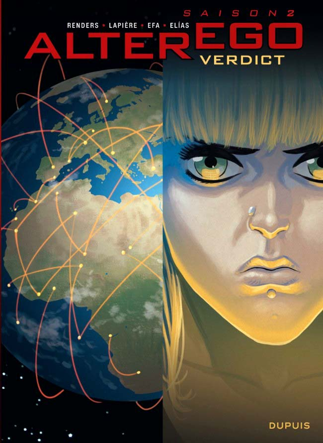couverture BD Alter Ego Verdict