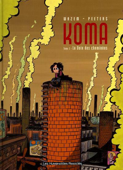 couverture BD Koma tome 1