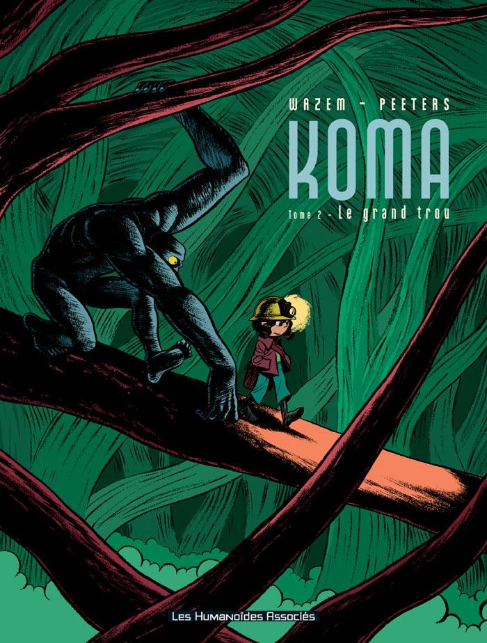 couverture BD Koma tome 2