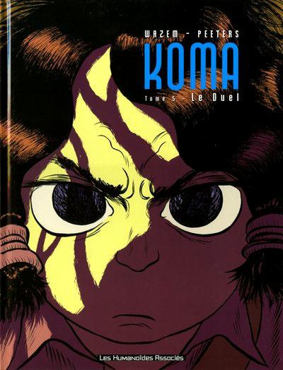 couverture BD Koma tome 5