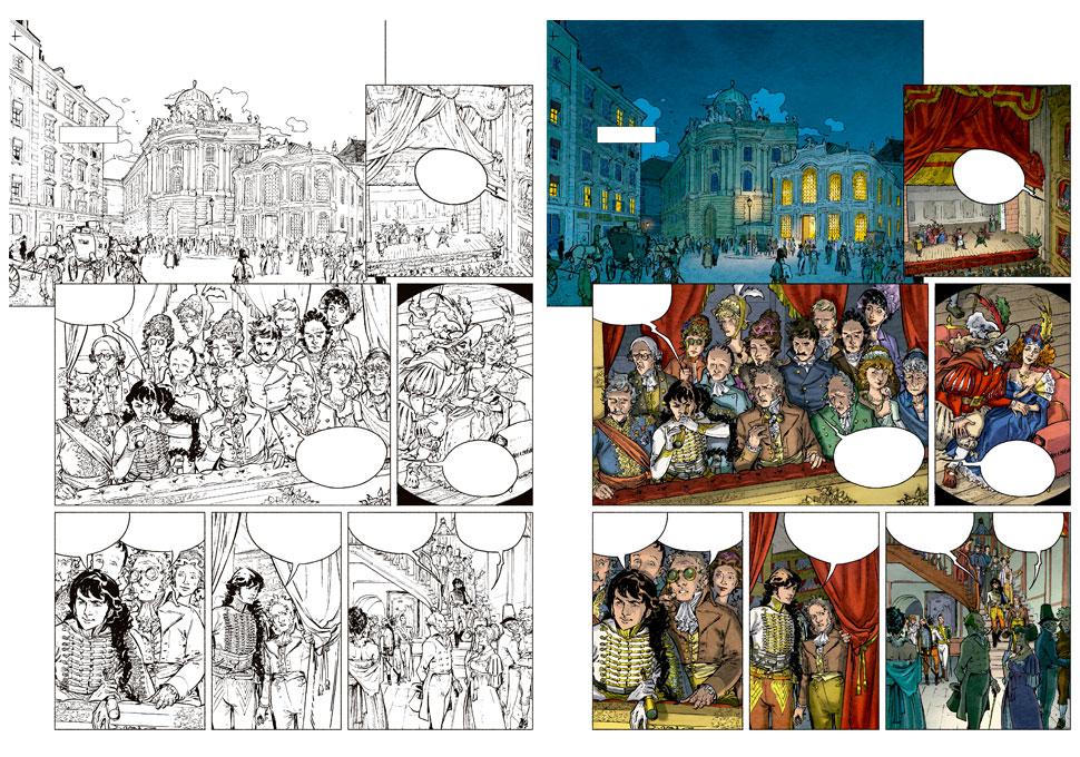 planche couleur extraite de La Bataille tome 3