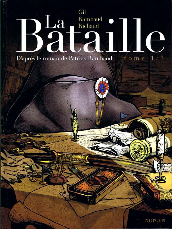 couverture La Bataille tome 1