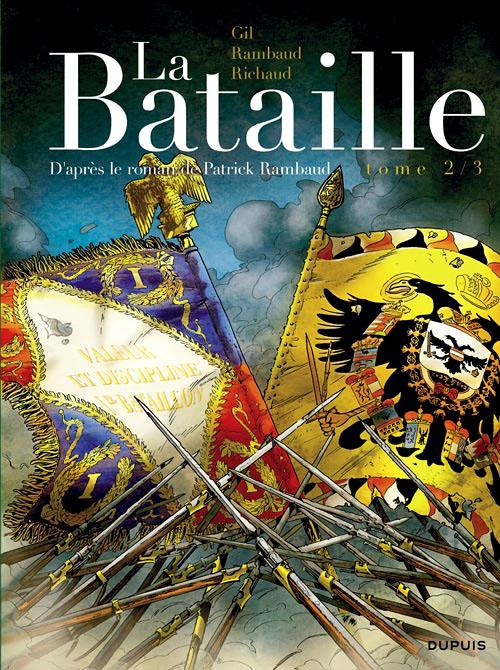 couverture La Bataille tome 2