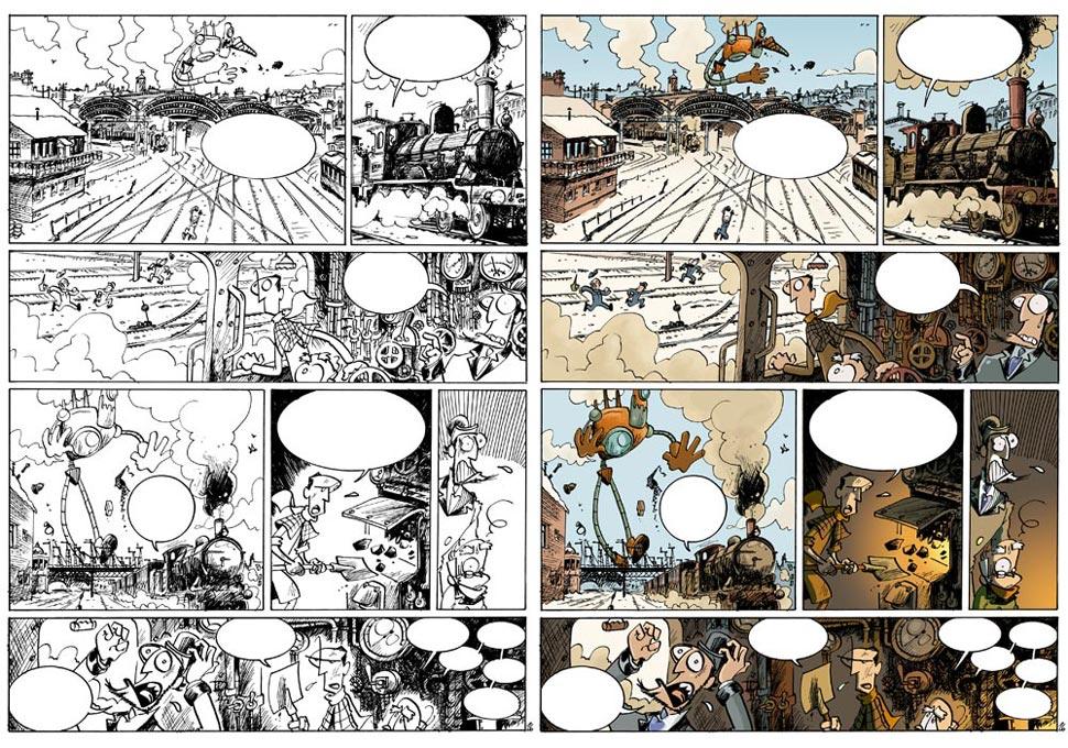 H&H de Arnü West, éditions Treize Etrange