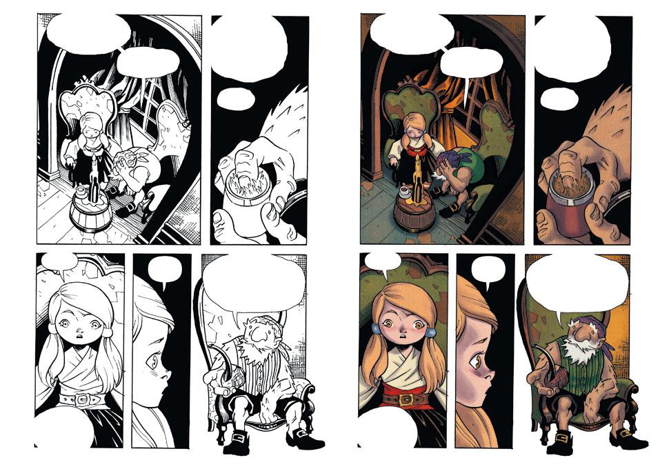 Polly et les pirates de Naifeh, éditions les Humanoïdes Associés