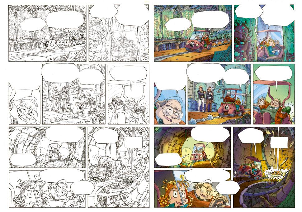 Willy Wonder tome 1 de Camboni et Artibani, éditions vents d'Ouest