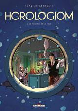 couverture d'Horologiom T6 de Fabrice Lebeault, éditions Delcourt