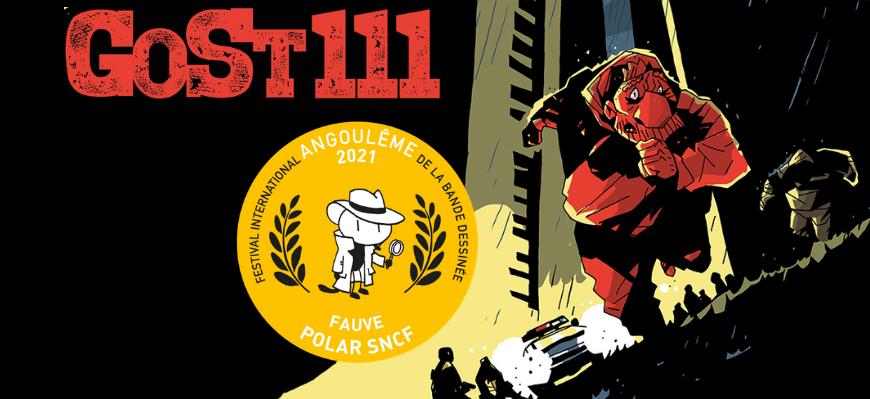 GoSt 111, bandeau, éditions Glénat, Mark Eacersall , Marion Mousse, prix Fauve polar SNCF Angoulême 2021